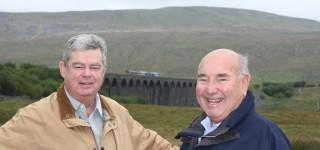 Ron and John at Ribblehead