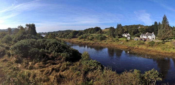 View from Isle of Seil 1