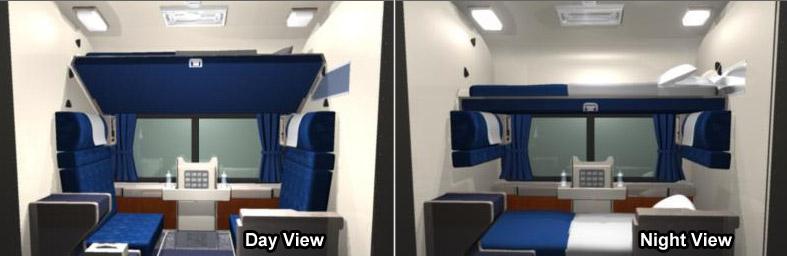 Superliner Roomette Views