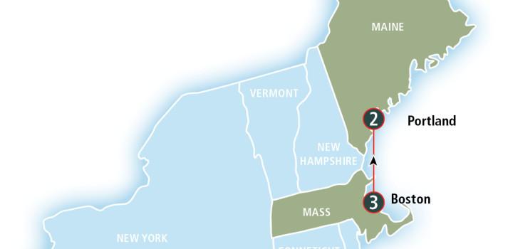 New England Map Image