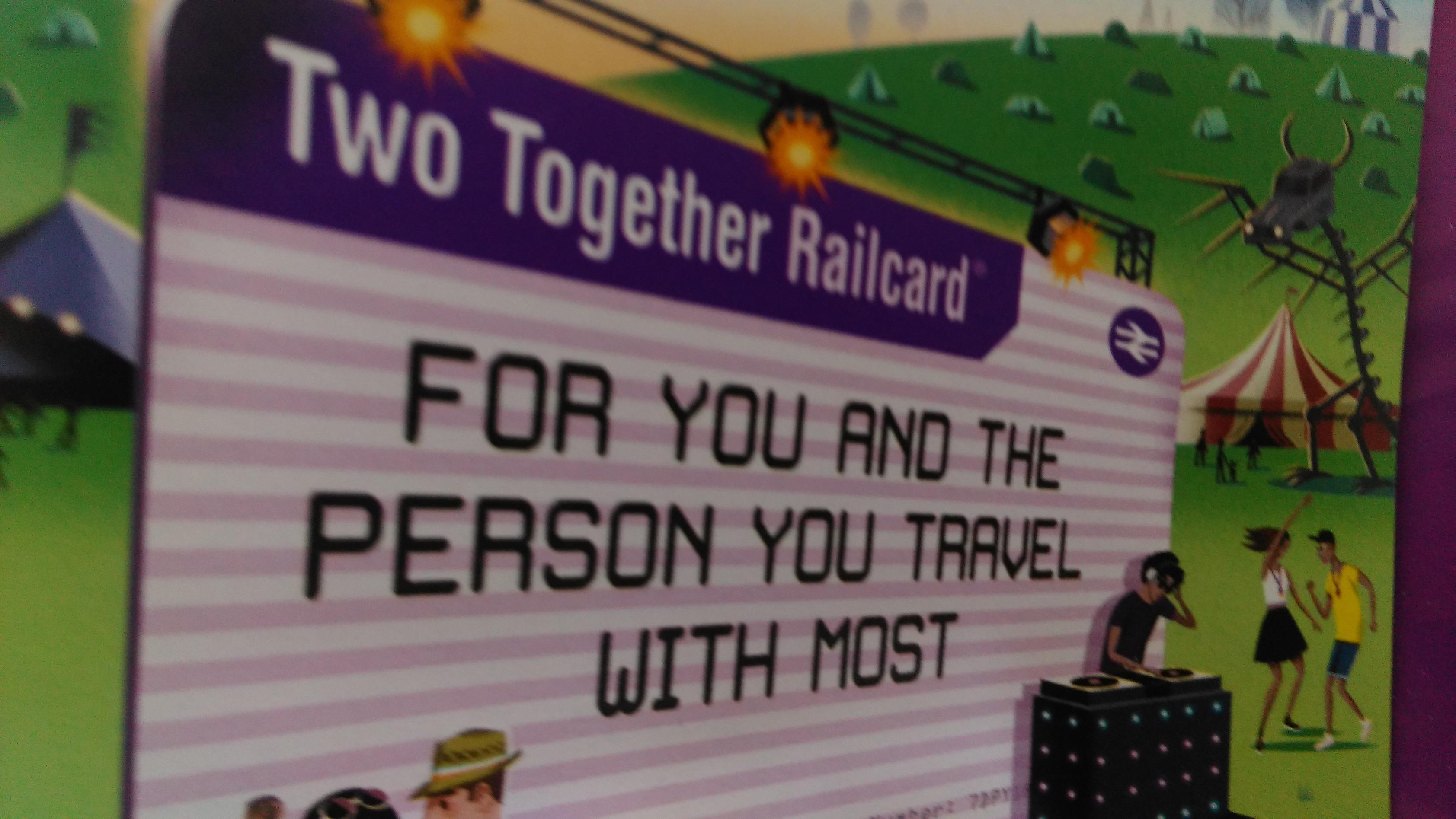 Two Together Railcard Rail Tour Guide