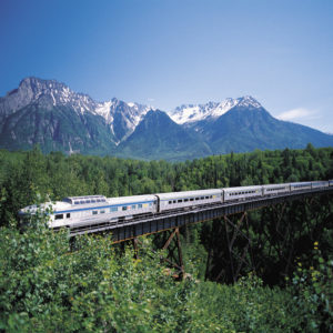 Skeena train in Canada
