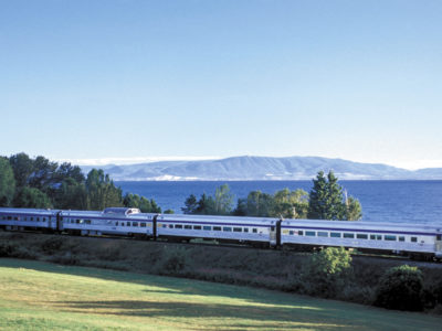 Rail tickets on the Ocean train in Canada
