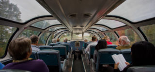 VIA Rail Touring class panorama car