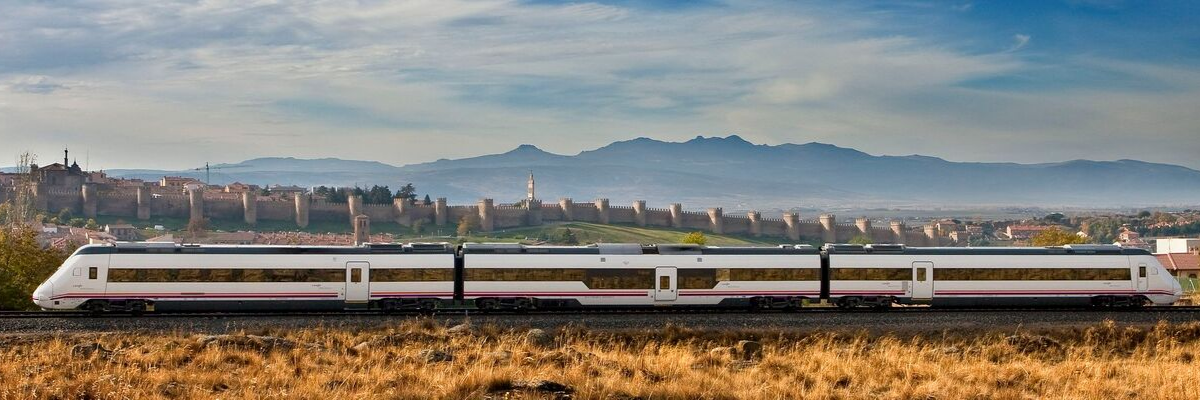 High Speed rail travel in Spain